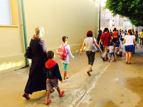 Un total de 3.478 alumnos de Educación Infantil y Primaria comenzaron hoy el curso escolar 2015/16 con normalidad en los once colegios de Totana, Foto 4