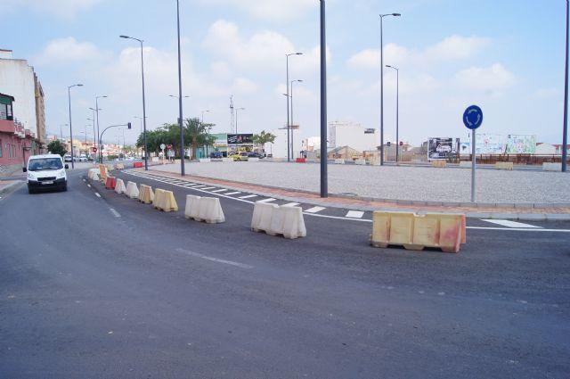 Mañana se derivará el tráfico en la zona de la rotonda de la Kabuki y aledaños, Foto 1