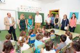 El Presidente regional destaca en Mazarr�n la calidad de un sistema educativo con m�s becas e incremento de docentes