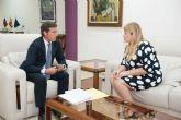 Alcaldesa y Delegado del Gobierno abordan temas de inter�s para la seguridad del municipio