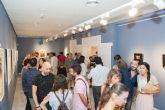 Medio millar de personas visita la exposici�n de Mart�nez C�novas