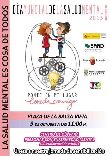 El Centro de Día para Personas con Enfermedad Mental celebrará el próximo 9 de octubre el Día Mundial de la Salud Mental