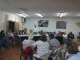 El equipo de Gobierno asiste por primera vez a la Asamblea de la Asociaci�n de Vecinos de Gebas