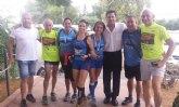 El grupo senderista Venta la Rata participó en la IV edición de la Peñarrubia Lorca Trail
