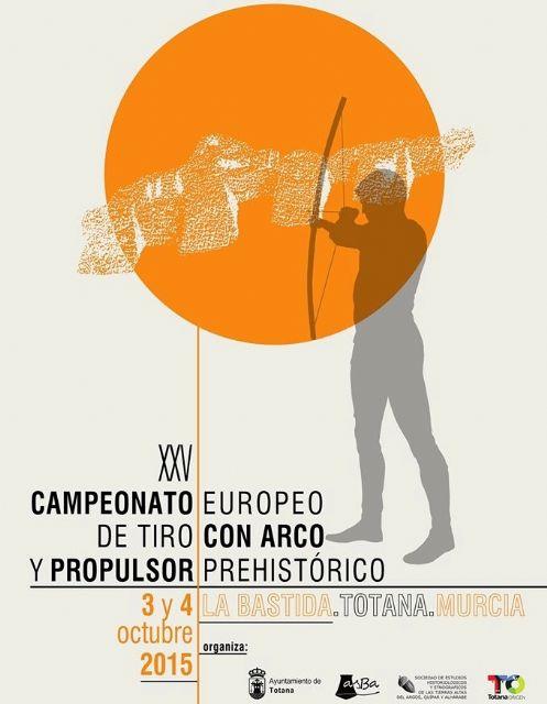 Totana acoge este fin de semana el XXV Campeonato Europeo de Tiro con Arco y Propulsor Prehistóricos