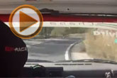 Pedro González y su habitual Renault 5 Gt Turbo realizaron una gran actuación en la prueba de casa