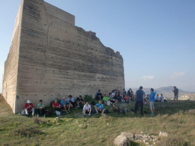 33 personas participaron en una ruta senderista por Mula y Albudeite, Foto 3