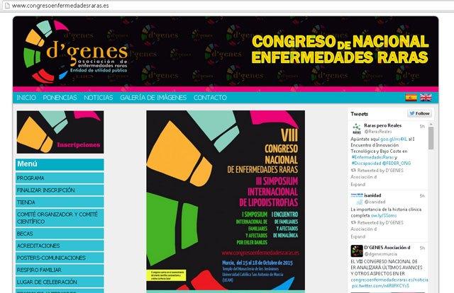 El VIII Congreso Nacional de Enfermedades Raras analizará los últimos avances en la materia, Foto 1