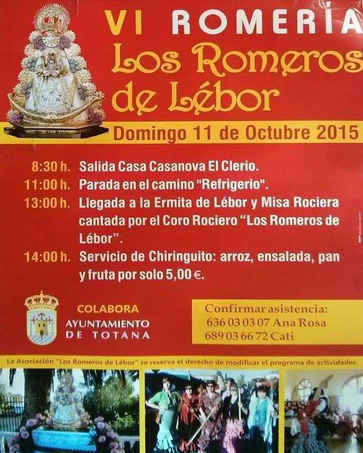 La VI Romería Los Romeros de Lébor se traslada al domingo 11 de octubre, Foto 2