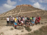 33 personas participaron en una ruta senderista por Mula y Albudeite