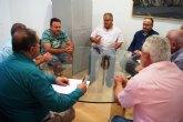 Autoridades municipales se reúnen con la Comunidad de Regantes