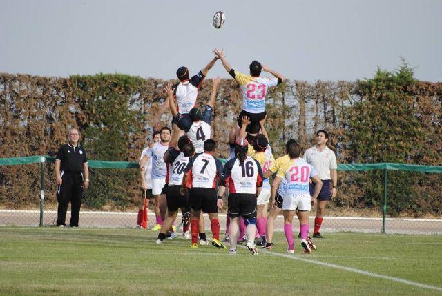 El Club de Rugby de Totana vendió muy cara su derrota en la Guadalentín Cup en una gran tarde de rugby en el inicio oficial de la temporada, Foto 1