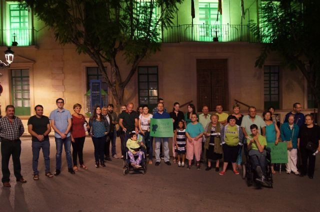 El Ayuntamiento se suma a los actos con motivo de la presentación de la nueva imagen corporativa del movimiento de asociaciones de la discapacidad intelectual FEAPS, Foto 1
