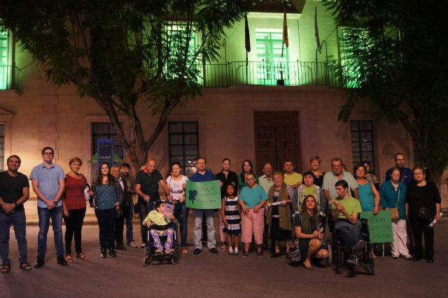 El Ayuntamiento se suma a los actos con motivo de la presentación de la nueva imagen corporativa del movimiento de asociaciones de la discapacidad intelectual FEAPS, Foto 2