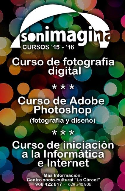 Últimas plazas disponibles para los cursos de la asociación sonImagina, Foto 1