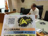 El programa Totana Activa oferta más de una veintena de actividades variadas para los meses de octubre y noviembre