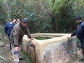 La recuperaci�n de los caños de Espuña y Las Alquer�as permitir� que regantes de Heredamientos de Alhama y Totana sigan utilizando el agua