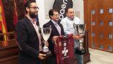 El Alcalde recibe al Lorca Deportiva para felicitarle por su victoria en la Copa Federaci�n