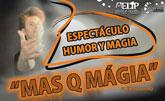 Álex Navarro, actor de la serie Águila Roja, ofrecerá un espectáculo de humor y magia en Totana