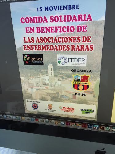 La Peña Barcelonista de Macisvenda colaborará con las Enfermedades Raras
