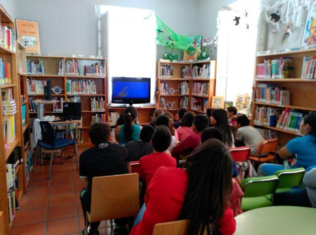 Arranca el programa de Animación a la Lectura propuesto a los centros docentes  para el curso 2015/2016 con la actividad