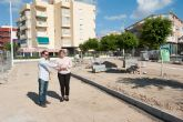 El ayuntamiento acomete obras en zonas verdes y de pavimentación de aceras por valor de 77.000 euros