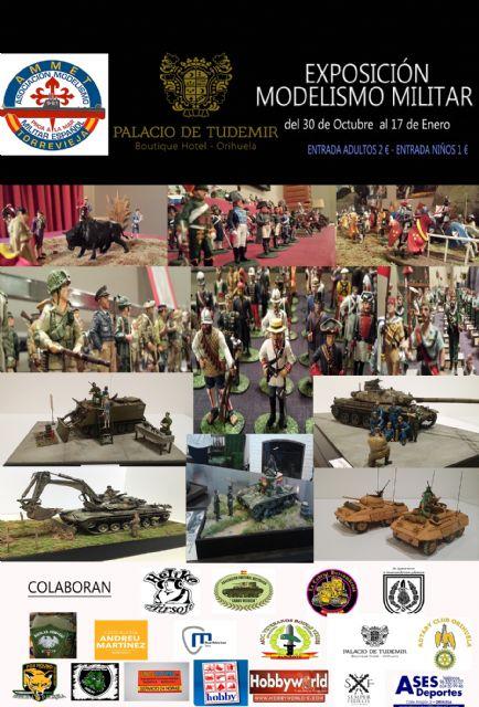El Museo de la Policía Local cede material a la Exposición de Modelismo Militar que se celebra en Orihuela del 30 de octubre al 17 de enero