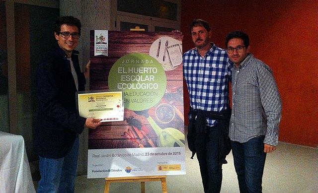 """El CEIP Deitania Comarcal queda finalista en la 2ª edición de los premios nacionales """"El huerto escolar ecológico: una educación en valores"""", Foto 1"""