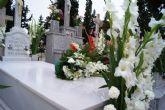 El viento y la lluvia provocan desperfectos en el cementerio - 2