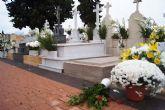 El viento y la lluvia provocan desperfectos en el cementerio - 4