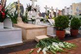 El viento y la lluvia provocan desperfectos en el cementerio - 7