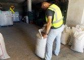 Los Equipos ROCA de la Guardia Civil han arrestado a más de 800 personas por robos en fincas y granjas de la Región