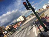 Entran en funcionamiento los semáforos reguladores de la rotonda de la Kabuki