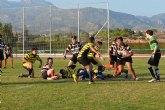 El Club de Rugby de Totana luchó, pero perdió ante Squalos San Javier en un disputado partido
