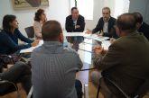 El Consorcio de las Vías Verdes presenta al equipo de Gobierno el proyecto de la Vía Verde Cartagena-Totana y el ramal La Pinilla-Mazarrón