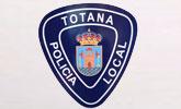 Agentes de la Policía Local de Totana recuperan un vehículo que había sido sustraído en otro municipio de la Región