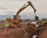 La CHS convoca a los afectados de Totana para el procedimiento de expropiación de las obras de emergencia de la tubería de agua desalinizada