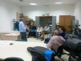 Trabajadores del Centro Especial de Empleo de Totana (CEDETO) realizan talleres formativos y de integración laboral