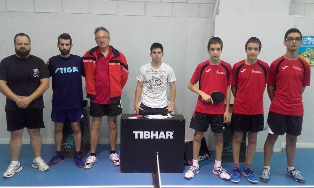 Club Totana tm. resultados fin de semana. Victoria de los dos equipos de base del club