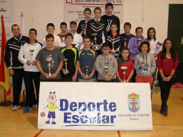 57 escolares participaron en la Fase Local de Tenis de Mesa de Deporte Escolar, Foto 1