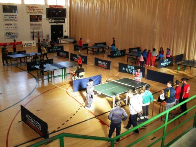 57 escolares participaron en la Fase Local de Tenis de Mesa de Deporte Escolar, Foto 5