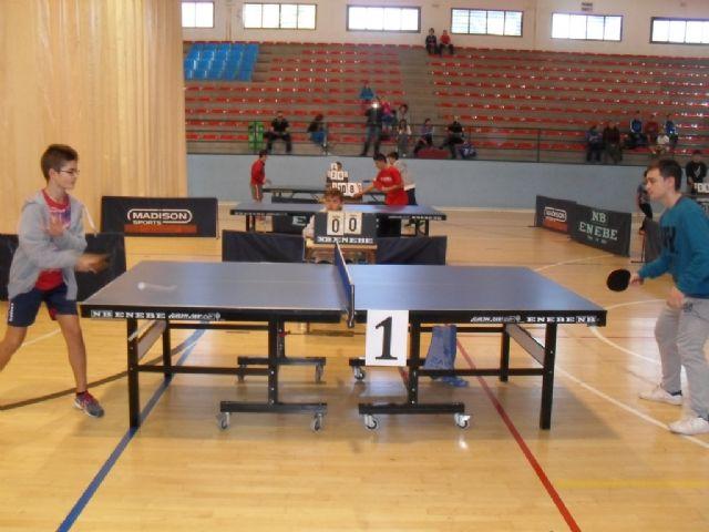 57 escolares participaron en la Fase Local de Tenis de Mesa de Deporte Escolar, Foto 6