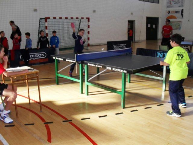 57 escolares participaron en la Fase Local de Tenis de Mesa de Deporte Escolar, Foto 7