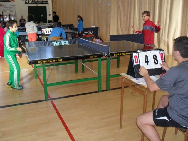 57 escolares participaron en la Fase Local de Tenis de Mesa de Deporte Escolar, Foto 8
