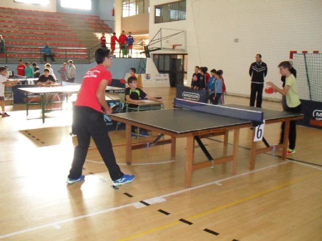 57 escolares participaron en la Fase Local de Tenis de Mesa de Deporte Escolar, Foto 9