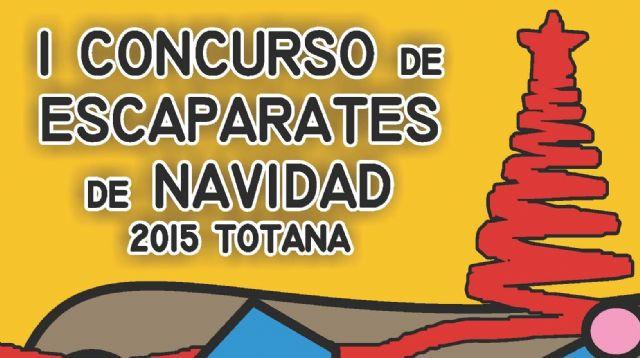 Se convoca el I Concurso de Escaparates de Navidad Totana´2015, Foto 1