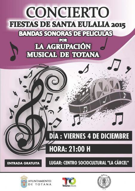 La Agrupación Musical de Totana ofrecerá un concierto Fiestas de Santa Eulalia este viernes, Foto 1