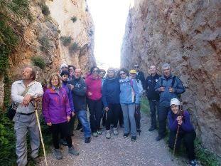 27 participantes se dan cita en la 4ª jornada del programa de Senderismo en la Sierra de la Fausilla, en el litoral de Cartagena, Foto 3