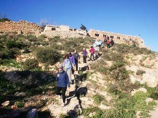 27 participantes se dan cita en la 4ª jornada del programa de Senderismo en la Sierra de la Fausilla, en el litoral de Cartagena, Foto 5