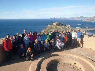 27 participantes se dan cita en la 4ª jornada del programa de Senderismo en la Sierra de la Fausilla, en el litoral de Cartagena, Foto 7